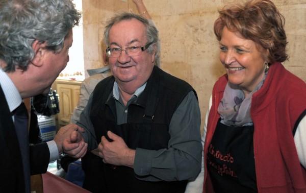 Arlette & Henri Hugon (Chez Hugon), convivialité et Beaujolais ne sont pas des vains mots !
