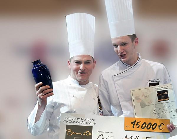J r me jaegle un lyonnais au bocuse d or lyon saveurs - Commis de cuisine suisse ...
