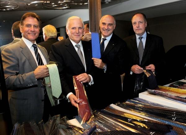 Les cravates italiennes marinella dans la capitale des for Chambre de commerce franco italienne
