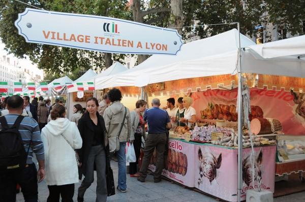 Un village gourmand italien en plein c ur de lyon lyon - Chambre de commerce italienne de lyon ...