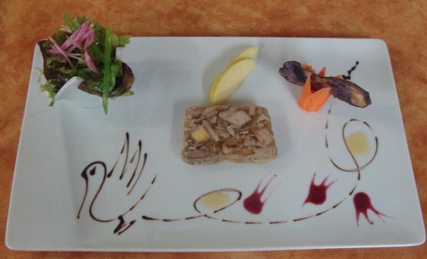 Menus de la saint valentin au jardin gourmand amb rieux for Restaurant le jardin gourmand lyon