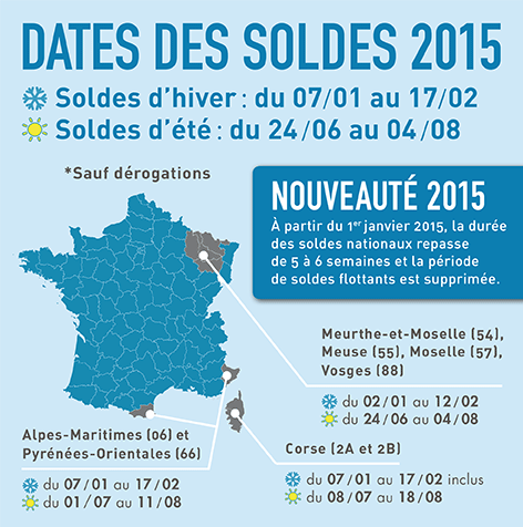 Image gallery soldes ete 2015 - Date soldes hiver 2016 ...